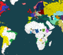 World in 1716 - Map game