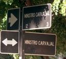 Esquina Ministro Carvajal con Ministro Carvajal
