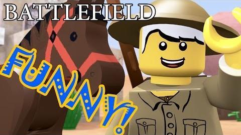 BATTLEFIELD 1 in LEGO world - FUNNY animation!!!