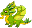 Dragon de Péridot