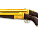 Dual Double Barrel-Gold