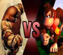 Juggernaut vs Donkey Kong