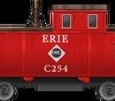 Erie Caboose
