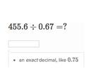 Dividing decimals: hundredths