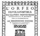 L'Orfeo, l'Oeuvre du Commencement