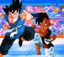Son Goku vs. Oob (niño)