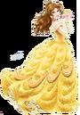 Sticker princesse Belle.png