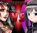 Ultimecia vs. Homura Akemi