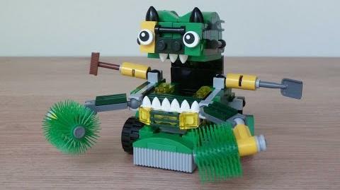 LEGO MIXELS SERIES 9 TRASHOZ MAX Instructions Gobbol Sweepz Compax