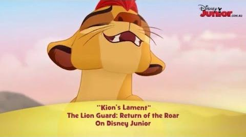 Songs sung by Kion