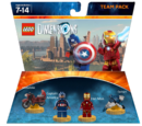 Iron Man and Captain America Team Pack (MrFlameYT)