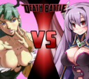Morrigan Aensland VS Alma Elma