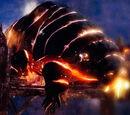Огромный лавовый жук