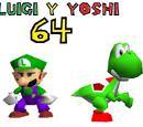 Yoshi y Luigi 64