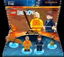 Aang and Katara Team Pack (Rapmilo)