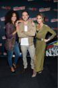Midnight, Texas at New York Comic Con Parisa Fitz Henly, Arielle Kebbel and Dylan Bruce.jpg
