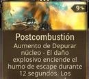Postcombustión