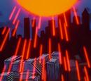Solar Bullet Projection