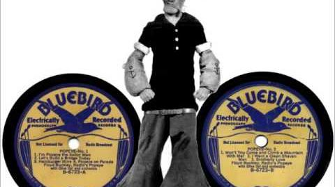 """Popeye Medley"" – Floyd Buckley and Olive Lamoy – 1936 Part 1"