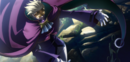 Relius Clover (Centralfiction, arcade mode illustration, 6).png