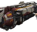 Captured starships