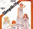 Simplicity 5949 A