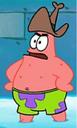 Patrick Wearing a Cowboy Hat.png