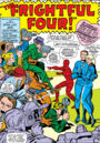 Reed Richards and Sue Storm announce their wedding from Fantastic Four Vol 1 36.jpg