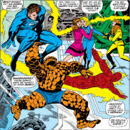 Fantastic Four celebrate Sue's Pregnancy from Fantastic Four Annual Vol 1 5.jpg