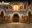 Sonic and the Secret Rings stock artwork