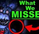 FNAF, The Clue that SOLVES Five Nights at Freddy's!