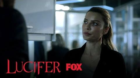 Lucifer Informs Chloe That He Won't Be Leaving Her Side Season 2 Ep. 5 LUCIFER