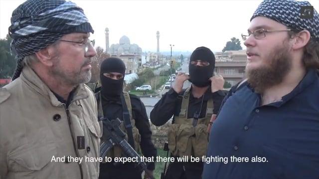Interview J. Todenhöfer mit Christian Emde alias Abu Qatada in Mossul (2014)