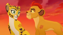 Kion and Fuli exchange a smile.PNG