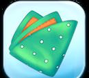Green Dot Fabric Token
