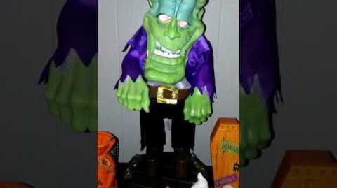 """Gemmy Freaky Geek Frankenstein """"Thriller"""""""