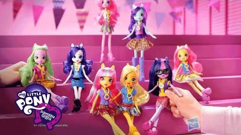 Muñecas My Little Pony Equestria Girls Juegos de la Amistad - América Latina - Tercer anuncio