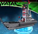Fire Nation Battle Ship (Rapmilo)