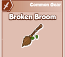 Broken Broom