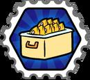 Afishionado stamp