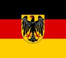 Flagge Deutschlands (Neunorwegen)
