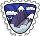 Mountaineer stamp