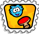 Puffle Paddle stamp