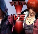 Jin Kazama VS Iori Yagami