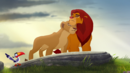 Simba and Nala nuzzle.png