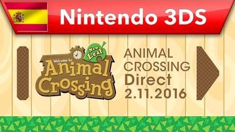 Animal Crossing Direct - 02.11.2016