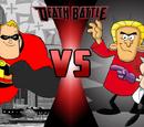 Mr. Incredible vs. Simon Bar Sinister and Cad