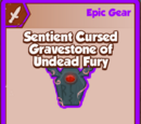 Sentient Cursed Gravestone of Undead Fury