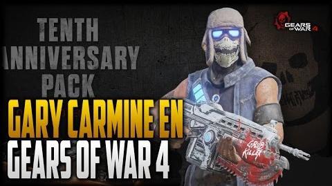 Gary Carmine, la nueva actualización de Gears of War 4