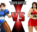 Chun li vs Blaze Fielding
